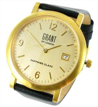 Watch - Skinny Mens Gold