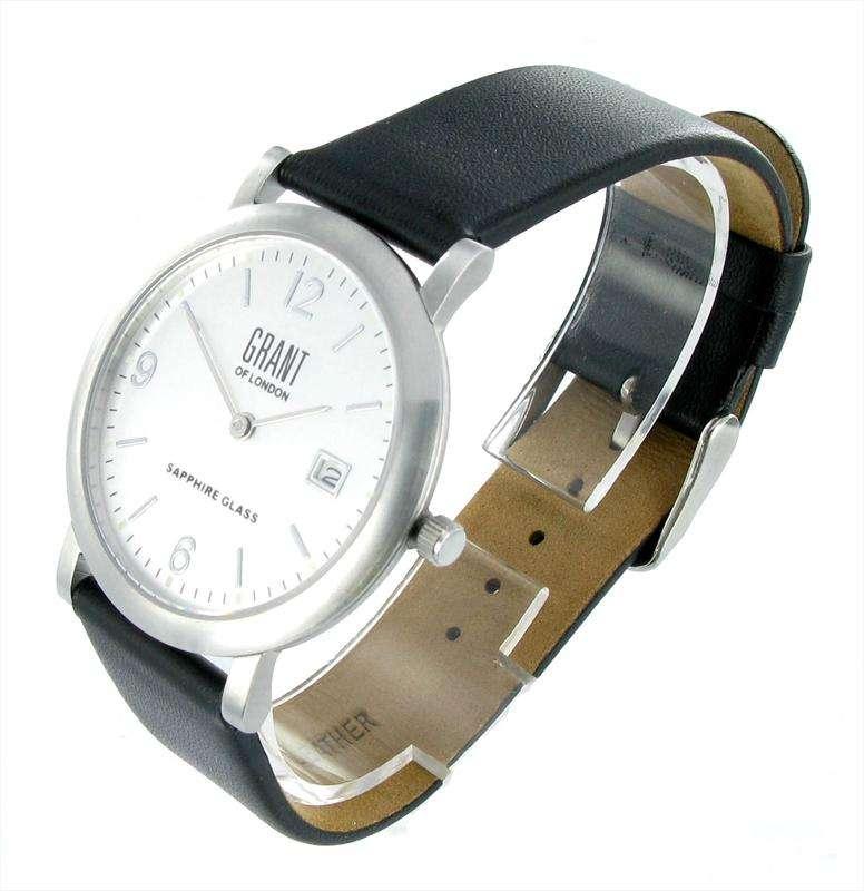 Watch - Skinny Mens Silver