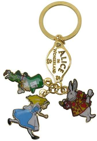Keyring 3-charm - Alice Characters