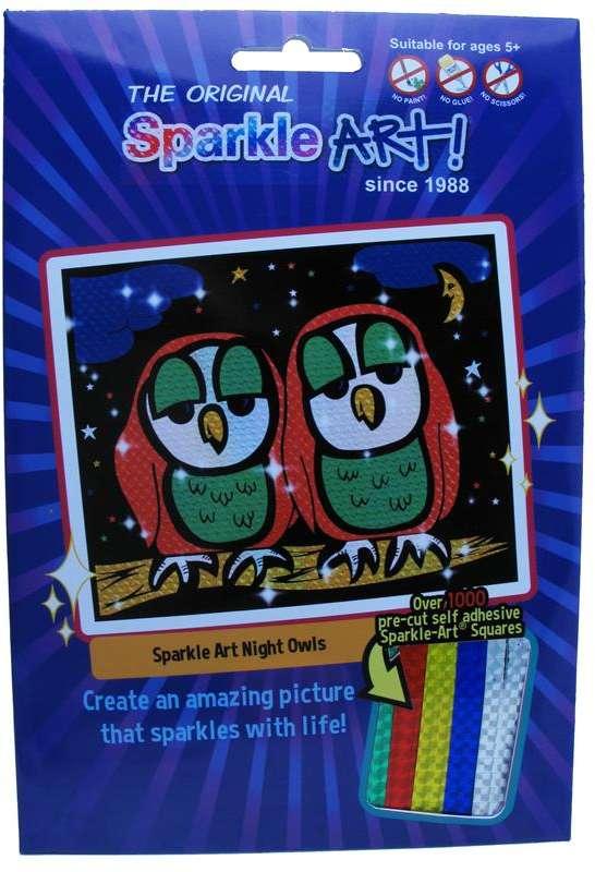 Sparkle Art - Owls