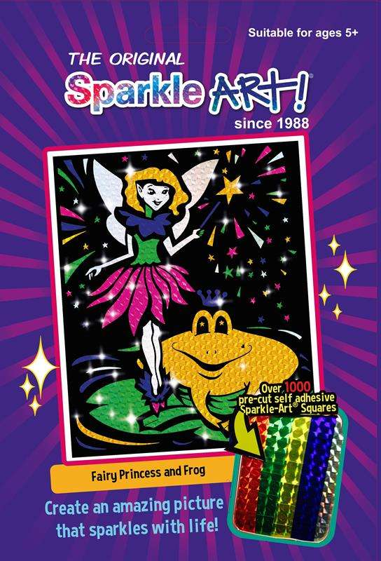Sparkle Art - Fairy Princess and Frog