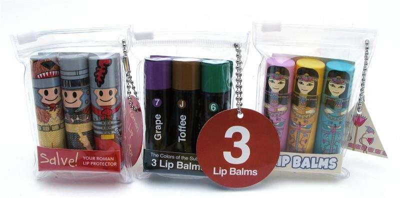 Custom - 3 pack lip balm