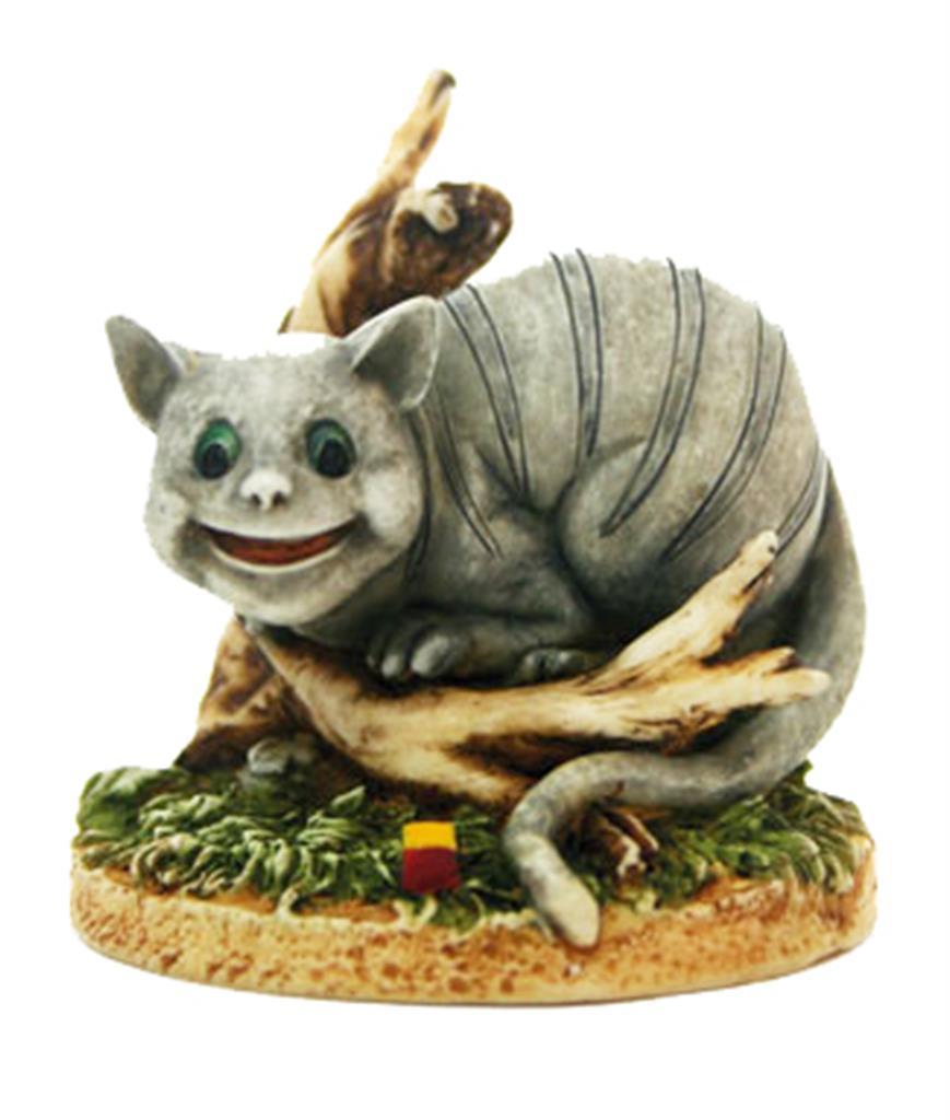 Figurine - Alice Cheshire Cat Resin