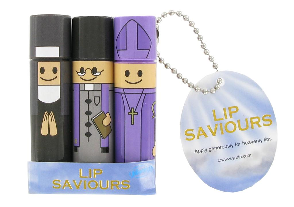 Lip Balms Lip Saviours - Pack of 3