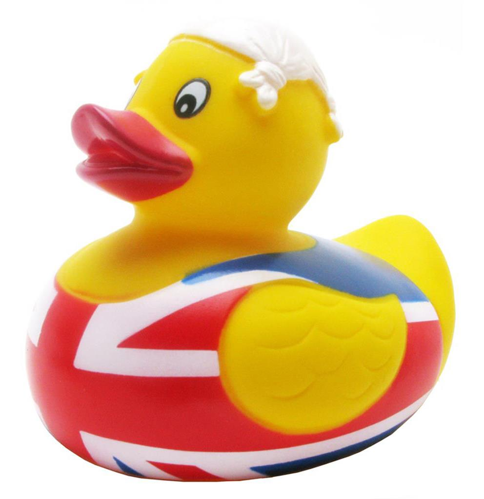 Duck Union Jack with Knotted Hanky on Head