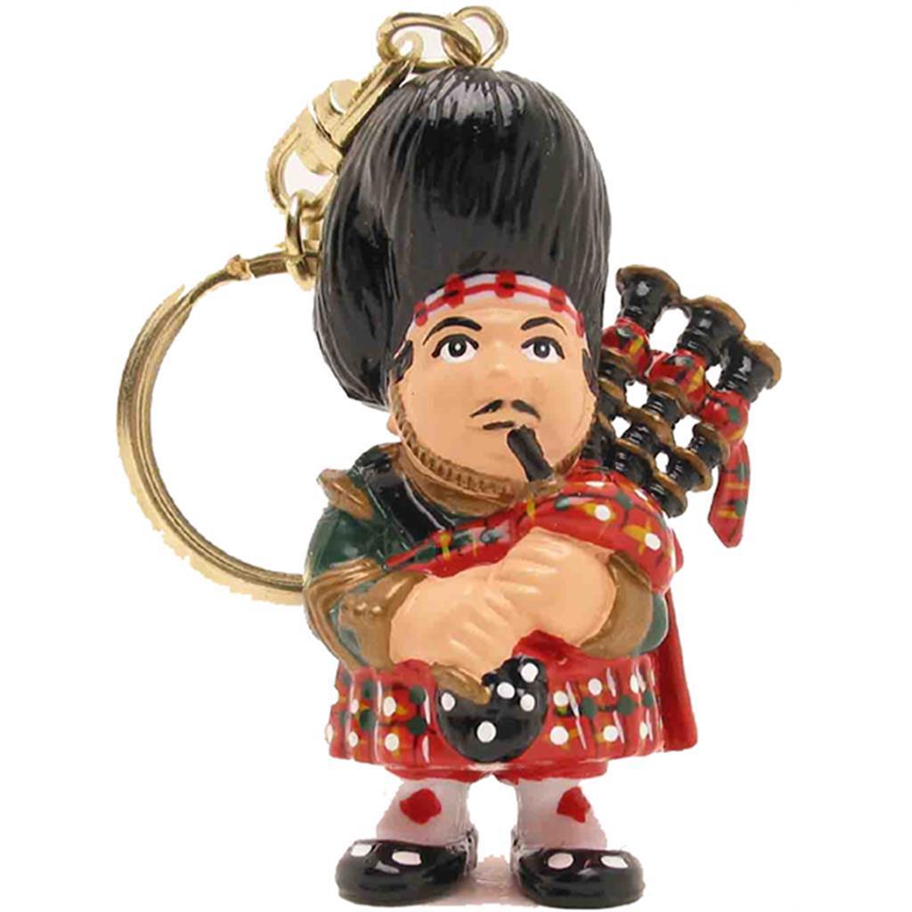 Keyring - Scotsman Red Dress