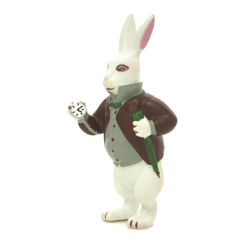 Figurine - Alice White Rabbit with Watch