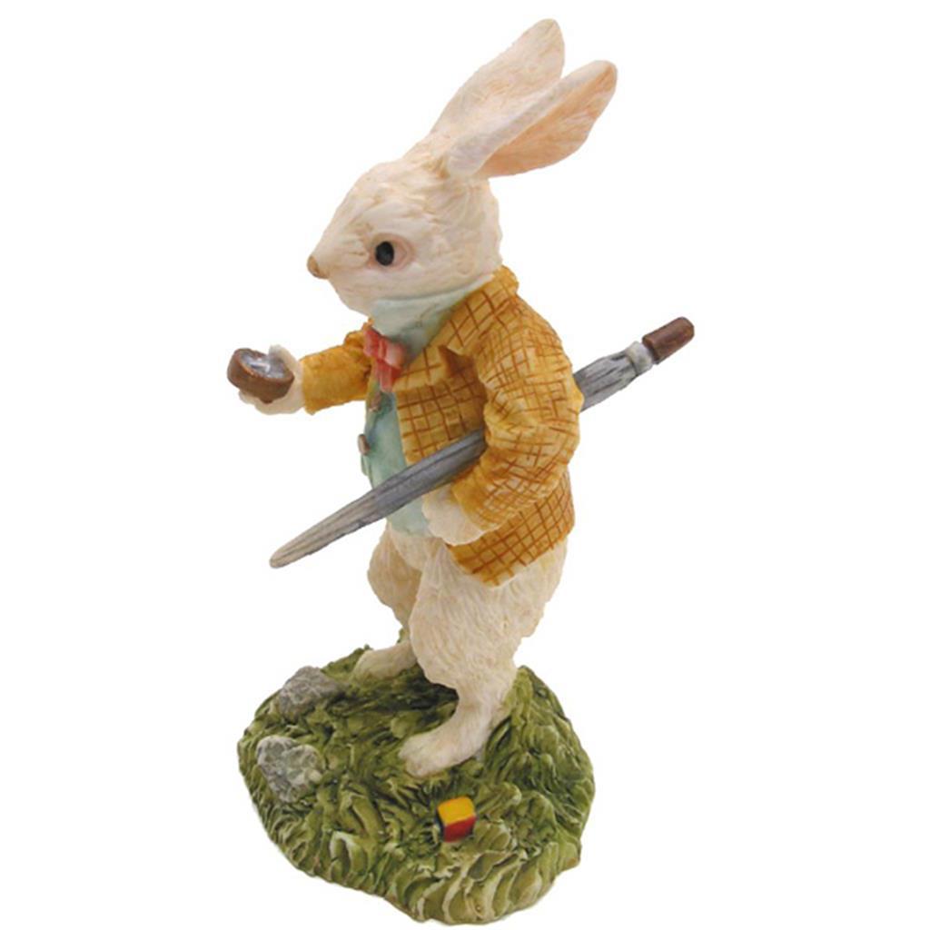 Alice Figurine - White Rabbit