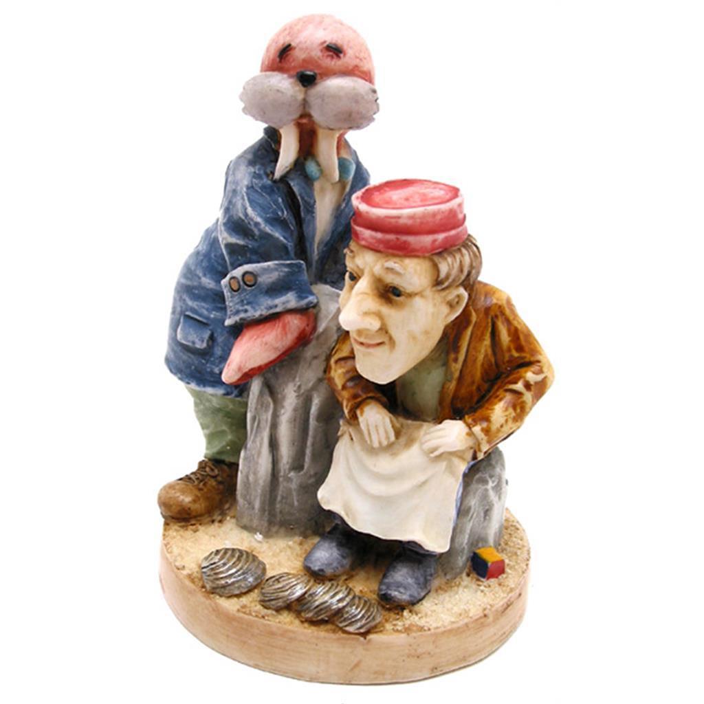 Alice Figurine - Walrus & Carpenter