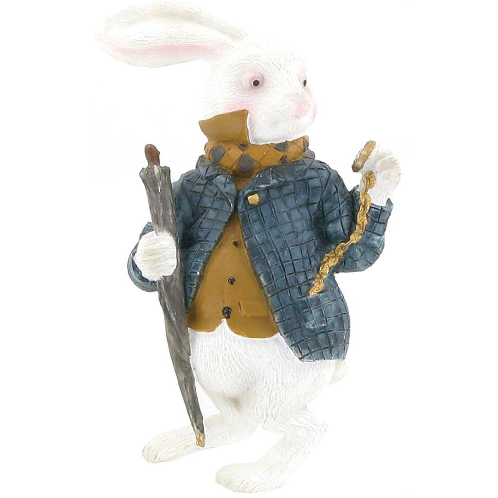 Magnet - Alice White Rabbit with Watch