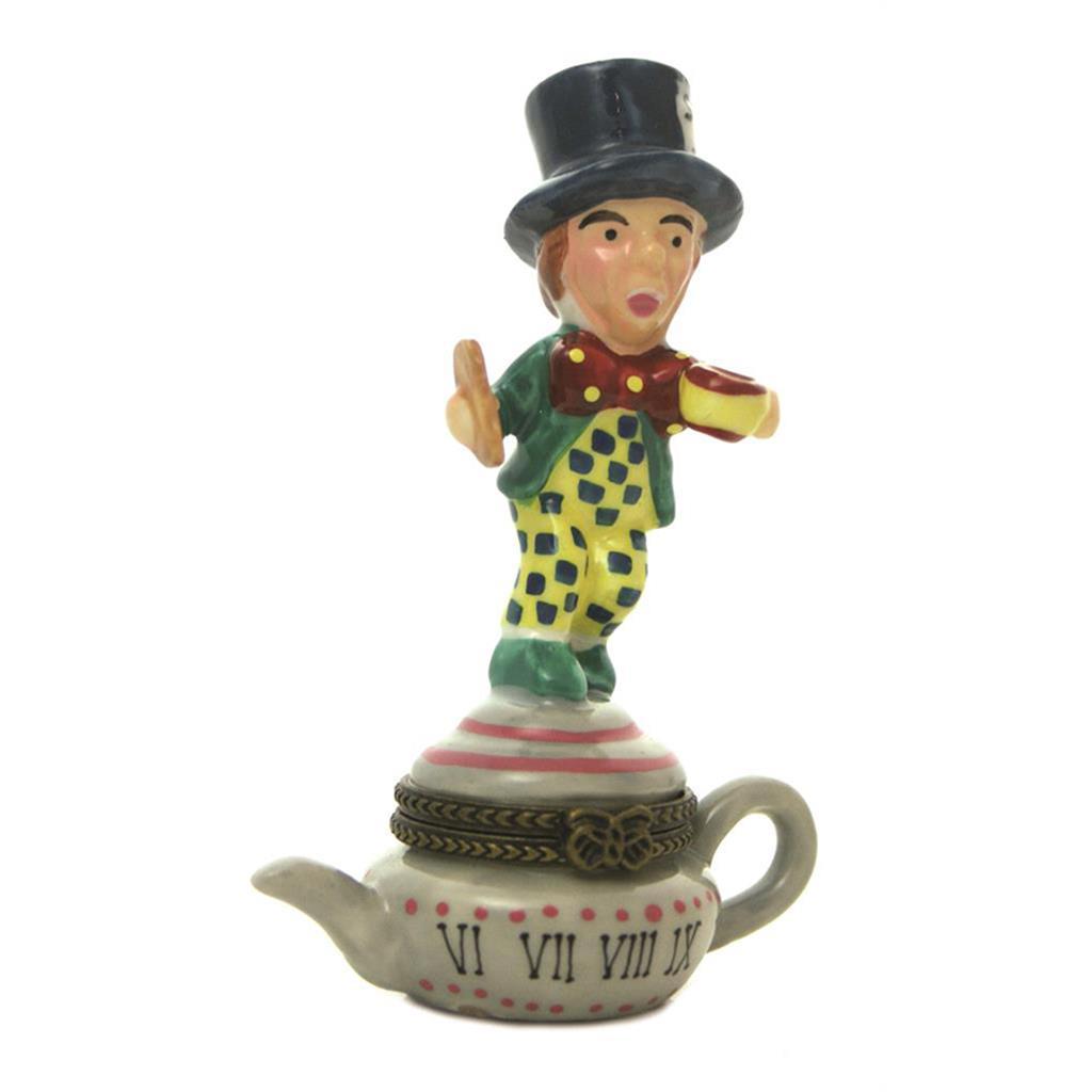 Porcelain Box - Alice Mad Hatter