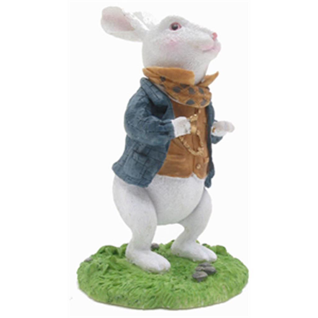Secret Sculpture - Alice White Rabbit