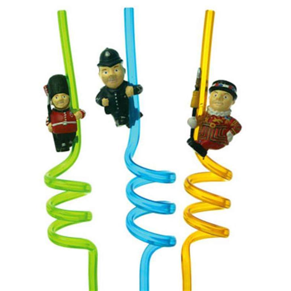 Custom - Straw with 3D Figurine
