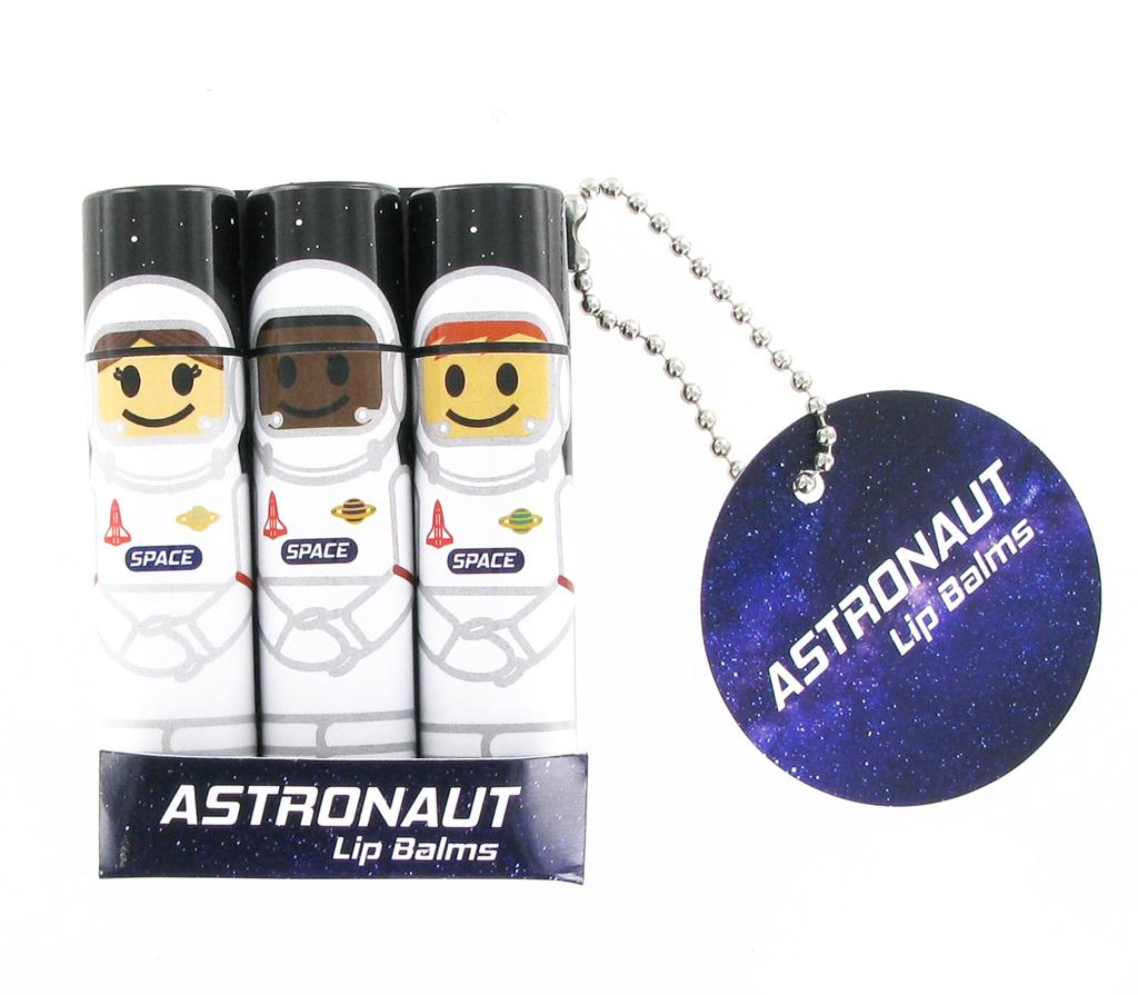 Lip Balms Astronauts - Pack of 3