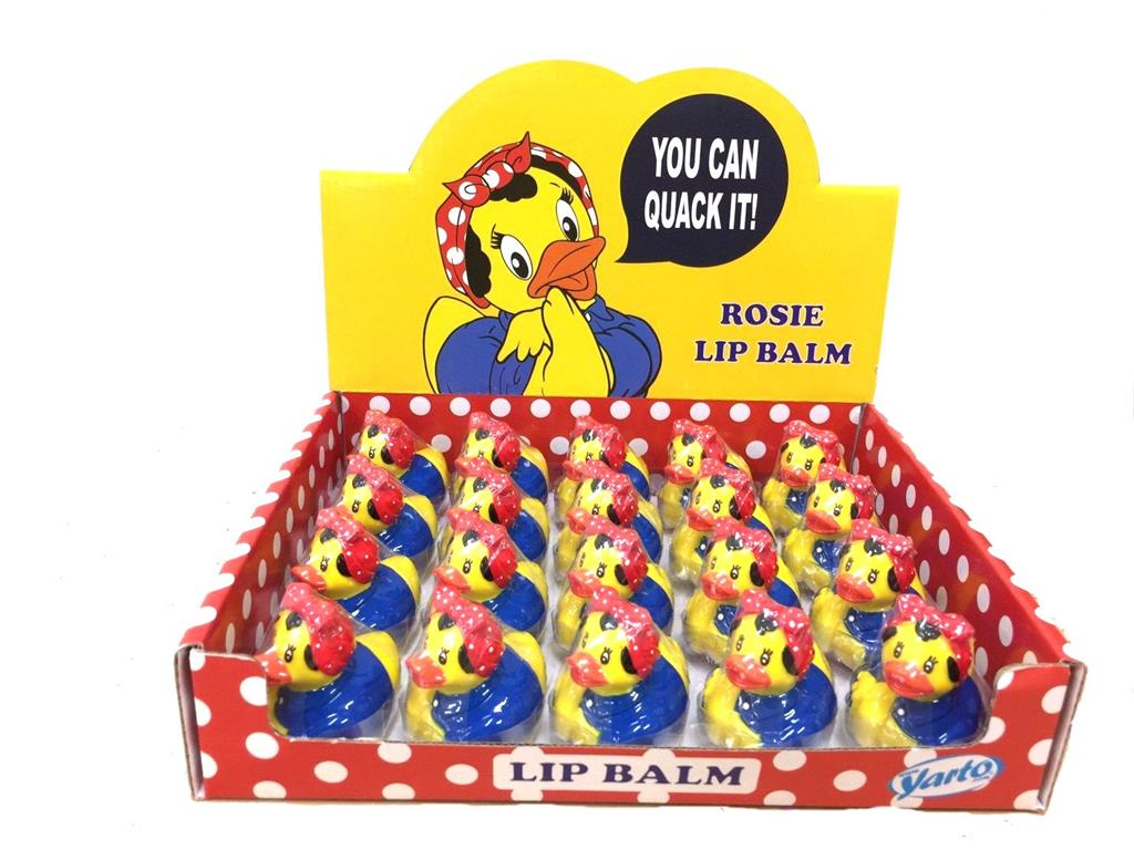 Lip Balm Duck Rosie the Riveter