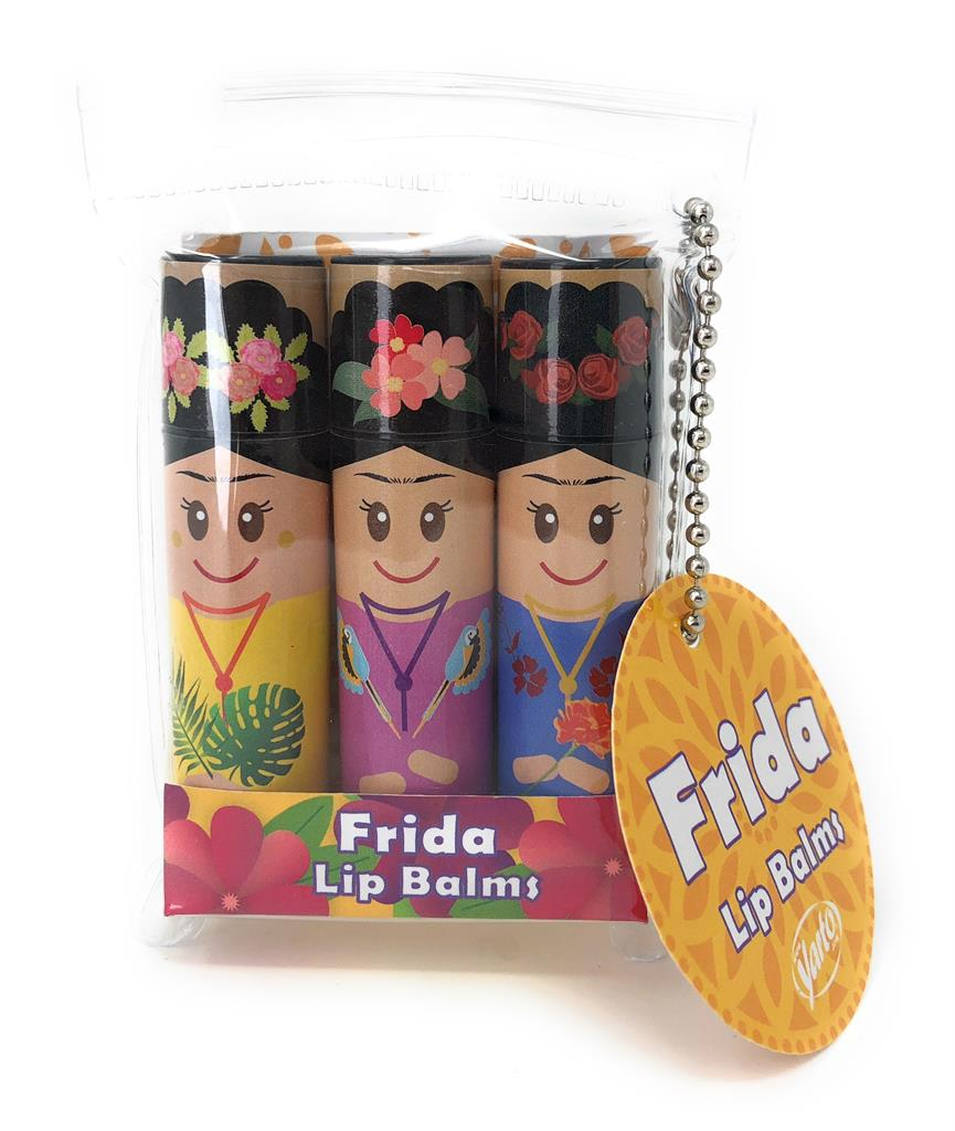 Lip Balms Frida - Pack of 3