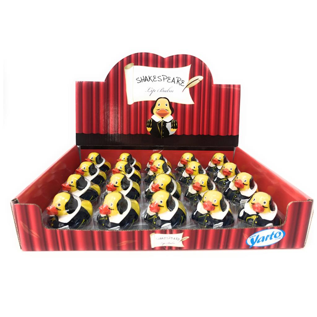 Lip Balm Duck Shakespeare
