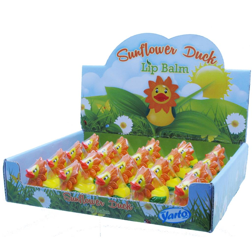 Lip Balm Duck Sunflower