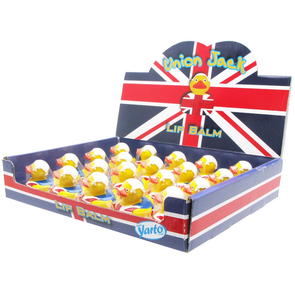 Lip Balm Duck Union Jack