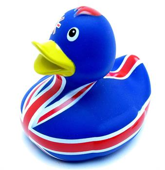 Duck - Union Jack All Over Design